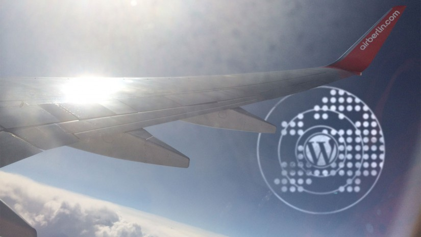 Flying one Way … to WordCamp Europe