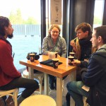Socialising at WordCamp Europe