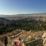 The park next to acropolis