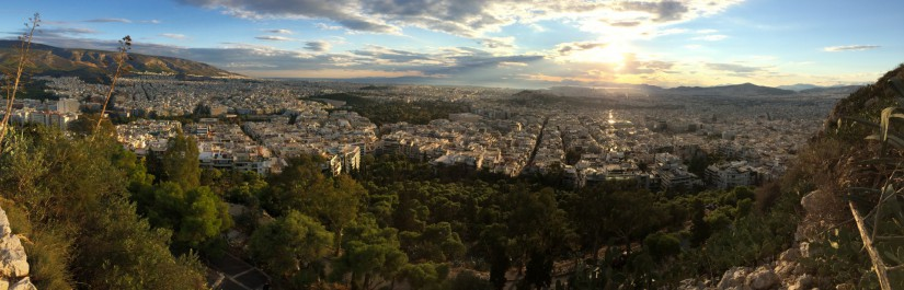 I can understand the gods – Staying in Athens is great
