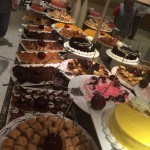 The sweet side of the buffet