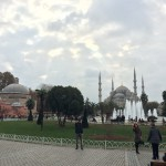 Weather like in fall over Istanbul